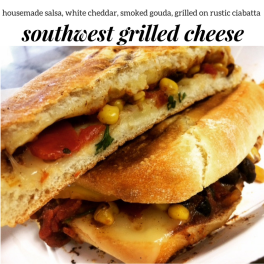 southwest grilled cheese